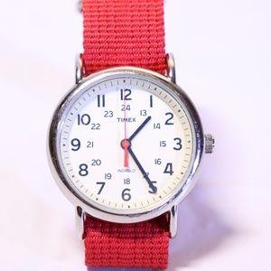 Timex weekender lot sale.